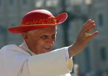 pope and red hat