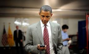 obama supports the blackberry