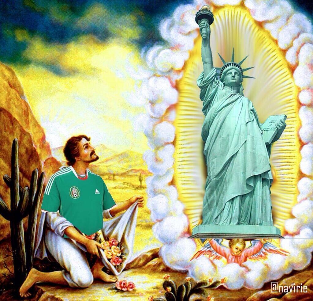 mexico and god bless america